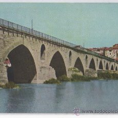 Postales: TARJETA POSTAL PUENTE ROMANO SOBRE EL DUERO ZAMORA. Lote 17791650