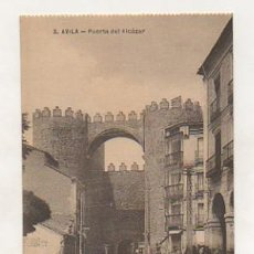 Postales: ÁVILA. PUERTA DEL ALCÁZAR. . Lote 18049246
