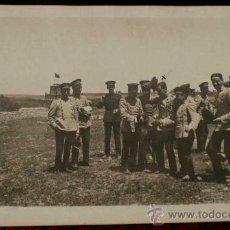 Postales: ANTIGUA FOTO POSTAL DE MILITARES DE LA ACADEMIA DE ARTILLERIA EN SEGOVIA, 1908 - J. DUQUE, FOTOGRAFO. Lote 19160892