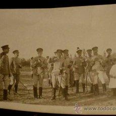Postales: ANTIGUA FOTO POSTAL DE MILITARES DE LA ACADEMIA DE ARTILLERIA EN SEGOVIA, 1908 - J. DUQUE, FOTOGRAFO. Lote 19160932