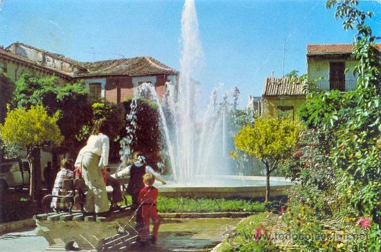 TARJETA POSTAL DE ROA DE DUERO FUENTE BURGOS (Postales - España - Castilla y León Moderna (desde 1940))