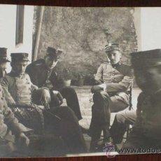 Postales: ANTIGUA FOTO POSTAL DE MILITARES DE LA ACADEMIA DE ARTILLERIA DE SEGOVIA, 1908 - J. DUQUE, FOTOGRAFO. Lote 19160947