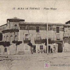 Postales: ALBA DE TORMES (SALAMANCA) PLAZA MAYOR, EDICIONES J.BARRADO. Lote 23355125