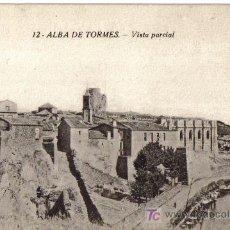 Postales: ALBA DE TORMES (SALAMANCA) VISTA PARCIAL, EDICIONES J.BARRADO. Lote 26024533