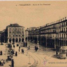 Postales: VALLADOLID.-ACERA DE SAN FRANCISCO. Lote 18699826