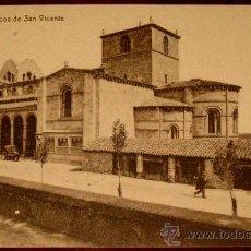 Postales: ANTIGUA POSTAL DE AVILA - PORTICOS DE SAN VICENTE - PEDRO GIMENEZ . THOMAS 12601, SIN CIRCULAR. Lote 19321358