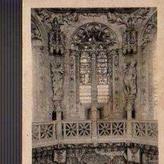 Postales: BUENA POSTAL DE BURGOS - CATEDRAL- DETALLE INTERIOR DEL CRUCERO. Lote 19564540