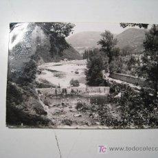 Postales: POSTAL ESPINOSA MONTEROS: PRESA RIO TRUEBA. Lote 19596427