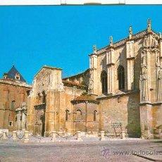 Postales: LEON - IGLESIA DE SAN ISIDORO (1967). Lote 20667284