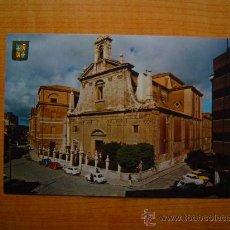 Postales: POSTAL PALENCIA IGLESIA PARROQUIAL DE NTRA. SRA. DE LA CALLE SIN CIRCULAR. Lote 20673470