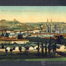 Postales: POSTAL DE BURGOS: VISTA GENERAL (ED. LEVY FILS NUM.1). Lote 20772493