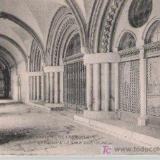 Postales: BURGOS.MONASTERIO DE LAS HUELGAS.- ENTRADA A LA SALA CAPITULAR. HAUSER Y MENET.. Lote 21097060