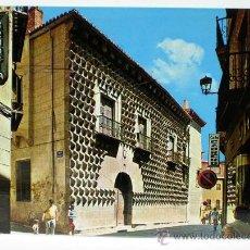 Postales: POSTAL SEGOVIA CASA DE LOS PICOS ED ARRIBAS AÑOS 70 SIN CIRCULAR. Lote 32317611
