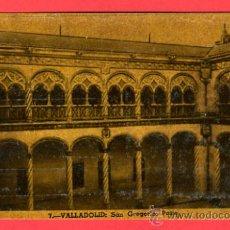 Postales: VALLADOLID, SAN GREGORIO, PATIO, P42808B. Lote 21817014