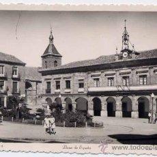 Postales: BENAVENTE (ZAMORA).-PLAZA DE ESPAÑA. Lote 21992495