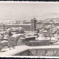 Postales: SORIA.- FOTOGRAFÍA DE SORIA NEVADA. AÑOS 50. Lote 22401237