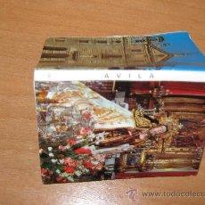 Postales: PRECIOSO ACORDEON CON 12 FOTOS MINI POSTALES DE AVILA. Lote 25251224