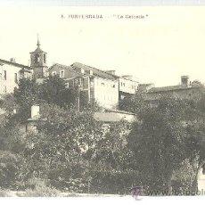 Postales: TARJETA POSTAL DE PONFERRADA LEON - LA CALZADA. Lote 22689693