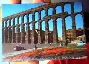 EL ACUEDUCTO(SEGOVIA).Nº807.NO FIGURA EDITOR.1966.SIN CIRCULAR.¡NUEVA! (Postales - España - Castilla y León Moderna (desde 1940))