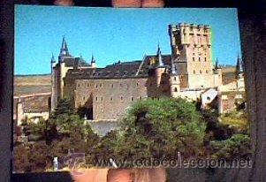 EL ALCÁZAR(SEGOVIA).Nº812.NO FIGURA EDITOR.1966.SIN CIRCULAR.¡NUEVA! (Postales - España - Castilla y León Moderna (desde 1940))