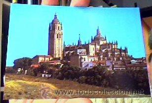 LA CATEDRAL(SEGOVIA).7590.F.I.T.E.R.SIN CIRCULAR.1966.¡NUEVA! (Postales - España - Castilla y León Moderna (desde 1940))