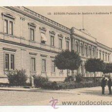 Postales: BURGOS. PALACIO DE JUSTICIA Ó AUDIENCIA TERRITORIAL. (HAUSER Y MENET). . Lote 23545767