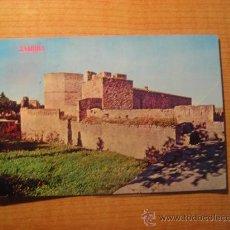Postales: POSTAL ZAMORA CASTILLO CIRCULADA. Lote 23581535