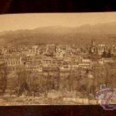 Postales: ANTIGUA POSTAL TRIPLE DE BEJAR - SALAMANCA - VISTA PANORAMICA - FOTO BIENVENIDO - NO CIRULADA.. Lote 23646340