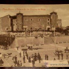 Postales: ANTIGUA POSTAL DE BEJAR - SALAMANCA - PLAZA MAYOR Y PALACIO DE LOS DUQUES DE BEJAR - FOTO BIENVENIDO. Lote 23646440
