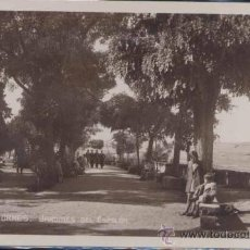 Postales: ALBA DE TORMES (SALAMANCA).- JARDINES DEL ESPOLÓN. Lote 23720497