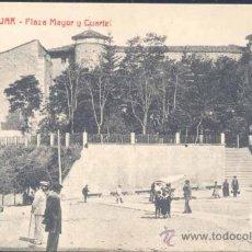 Postales: BÉJAR (SALAMANCA).- PLAZA MAYOR Y CUARTEL. Lote 23720531