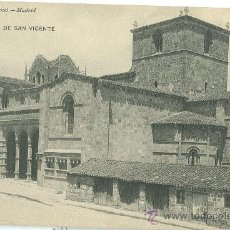 Postales: AVILA. BASILICA DE SAN VICENTE.. Lote 24124990