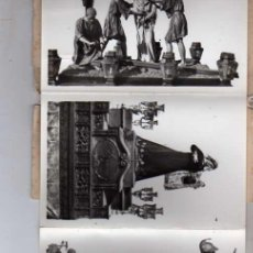 Postales: RECUERDO DE ZAMORA. SEMANA SANTA. FOTOGRAFIAS ARTISTICAS. ED. J. GONZALEZ. . Lote 24291659