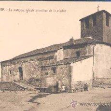 Postales: BÉJAR (SALAMANCA).- LA ANTIGUA, IGLESIA PRIMITIVA DE LA CIUDAD. Lote 24586934