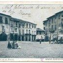 Postales: PONFERRADA, LEÓN. 1ª COLECCIÓN Nº 4. PLAZA DE LA ENCINA (CON MERCADO) REVERSO SIN DIVIDIR. Lote 25863965