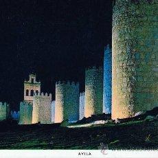 Cartes Postales: MURALLAS DE AVILA A ESTRENAR . Lote 25232250