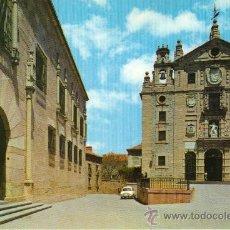 Postales: AVILA - 44 FACHADA PRINCIPAL DEL CONVENTO DE SANTA TERESA. Lote 25576079