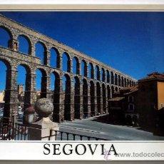 Postales: SEGOVIA. EL ACUEDUCTO DE SEGOVIA.. Lote 25580019