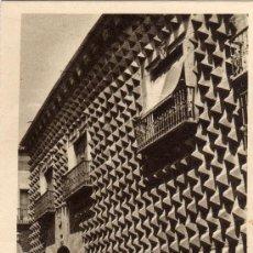 Postales: SEGOVIA CASA DE LOS PICOS M ARRIBAS SIN CIRCULAR. Lote 25719982