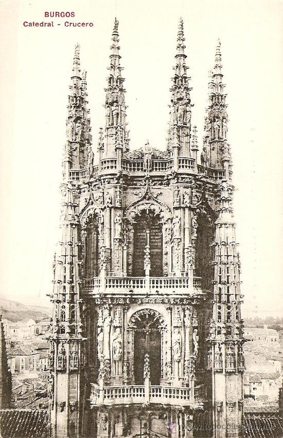BURGOS - CATEDRAL (CRUCERO) (Postales - España - Castilla y León Antigua (hasta 1939))