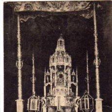 Postales: ZAMORA. Nº22. CUSTODIA O CARRO TRIUNFAL DEL SIGLO XV. FOT LACOSTE. SERIE G. GARCIA HERMANOS.. Lote 26109926