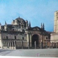 Postales: + POSTAL ZAMORA CATEDRAL AÑO 1967. Lote 26283979