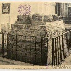 Postales: ANTIGUA POSTAL - BURGOS - SAN PEDRO DE CARDEÑA TUMBAS DEL CID CAMPEADOR Y DOÑA JIMENA - MUY CURIOSA . Lote 26713621