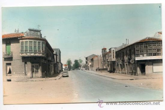 VENTA DE BAÑOS, PALENCIA Nº 2. CALLE DE CALVO SOTELO. EDICIONES ALARDE, COLOREADA (Postales - España - Castilla y León Antigua (hasta 1939))