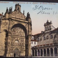 Postales: SALAMANCA. VISTA GENERAL DE LA IGLESIA DE SANTO DOMINGO. MUNCHEN FOTOCHROMIEKARTE 2852. Lote 27399324