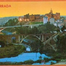 Postales: PONFERRADA -.LEON - PUENTES Y CASTILLO ILUMINADO - Nº 31 EDICIONES ARRIBAS. Lote 27518389