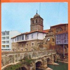 Postales: AGUILAR DE CAMPOO - PALENCIA - PUENTE DEL SOTO - Nº 18 ED. SICILIA - DIST. ALMACENES COLON. Lote 27552692