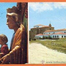 Postales: AMPUDIA - PALENCIA - NUESTRA SEÑORA DE ARCONADA Y MONASTERIO - Nº 3 ED. SKORPIOS. Lote 27552798