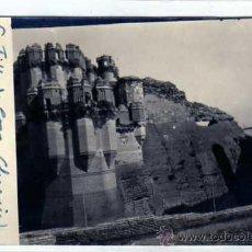 Postales: SEGOVIA. COCA. POSTAL FOTOGRÁFICA. CASTILLO DETALLE DEL FOSO.. Lote 27630325