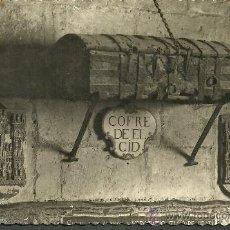 Postales: BURGOS 103 CATEDRAL COFRE DE EL CID. Lote 27646867